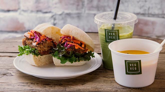 【営業終了しました】New! 野菜サンドのお店「VEGVEG」オープン。