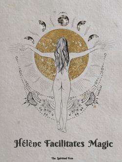 Illustratie voor Thespiritualfem voor 'facillitates magic'