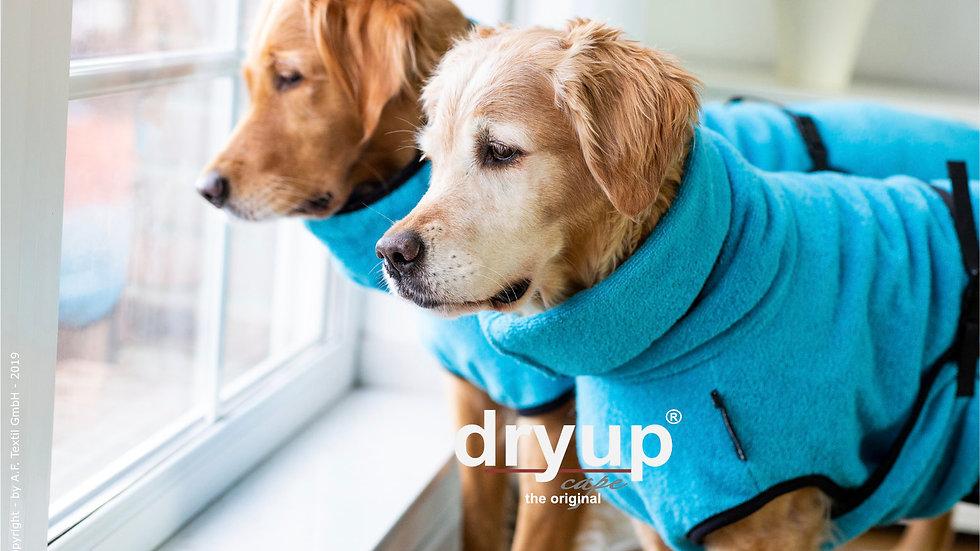 Dryup Bademantel cyan