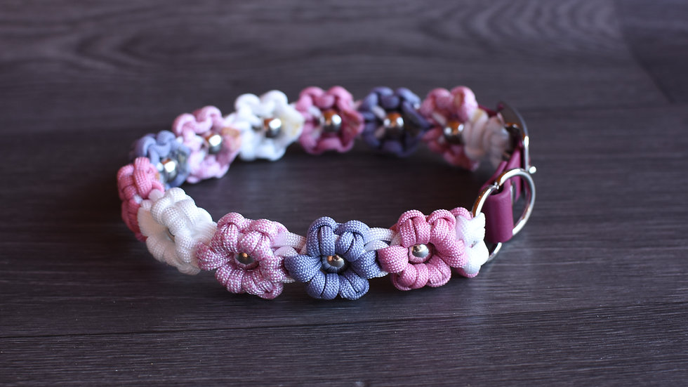 """Blumenhalsband """"Gretchen"""""""
