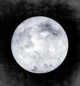 A nice moon