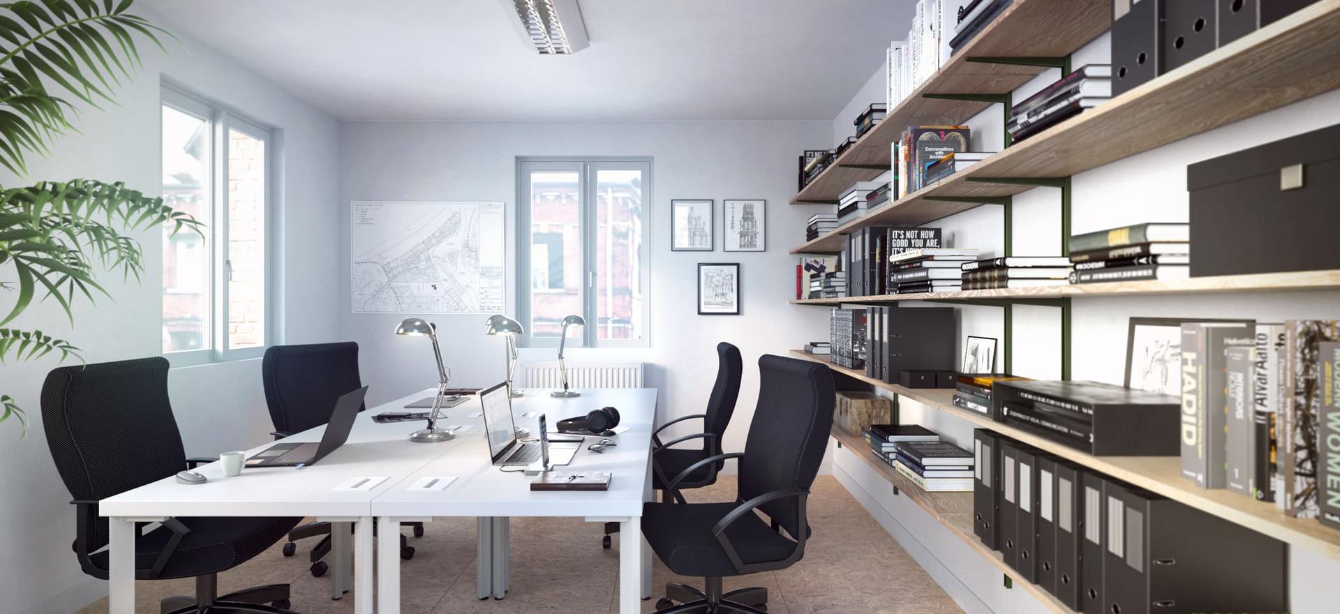 Vue bureaux étage - Darnétal - 2021