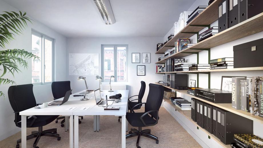 Projet de bureaux pour un incubateur d'architectes