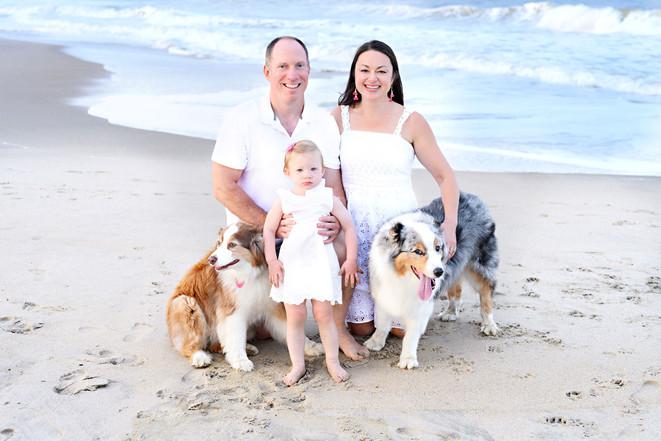 Family Beach Portraits Rehoboth Beach De