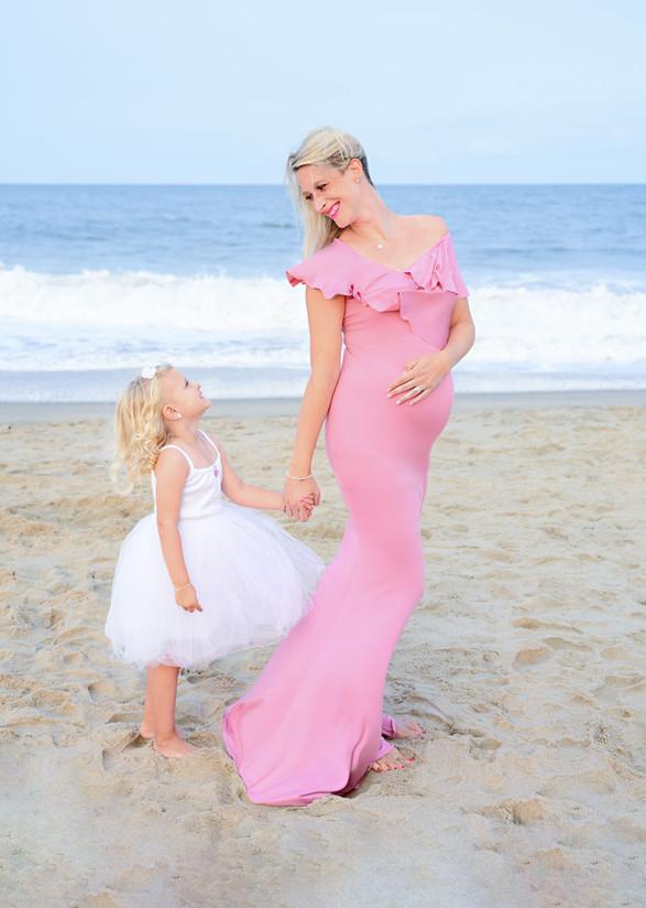 Fun family portraits Rehoboth Beach Delaware
