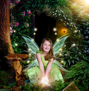 Fairy themed portraits Rehoboth Beach De