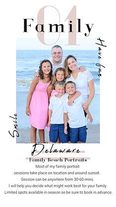 Delaware Family Beach Portraits Rehoboth