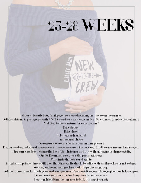 Helpful tips when playing your Maternity Portraits