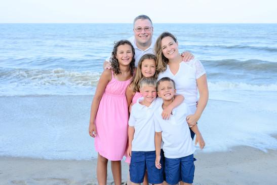 Rehoboth Family Beach Portrait