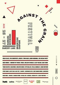 AGAINST THE GRAIN FESTIVAL, 2017