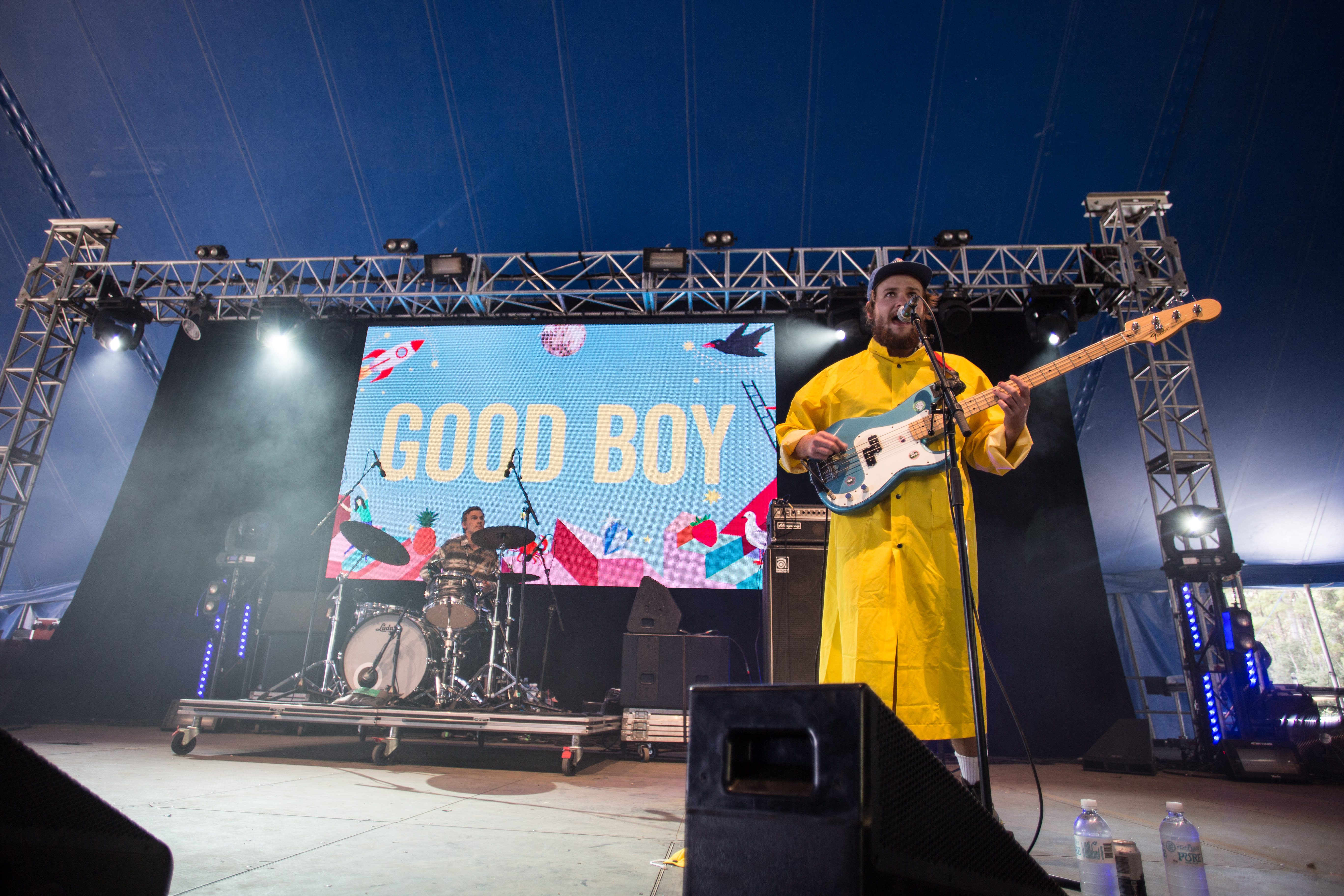 GOOD BOY AT FALLS FESTIVAL