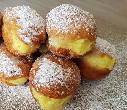 Mini Custard Filled Donut