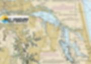 Inland chart of Virginia Beach, Lynnhaven, Broad bay, Linkhorn, Crystal Lake