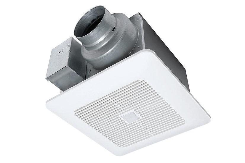 WhisperSense® DC™ Fan, 50-80-110 CFM