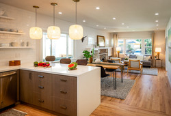 10 kitchen to living