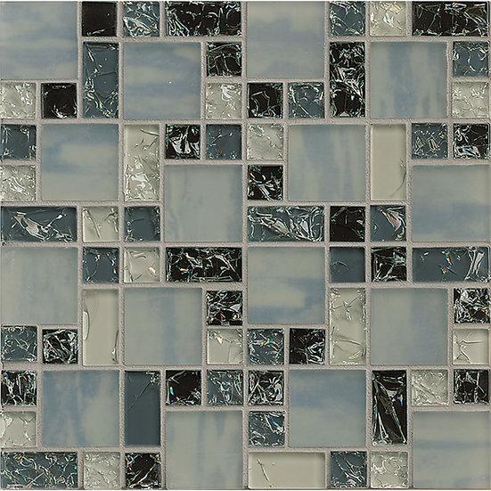 Crackle Mosaic Grey