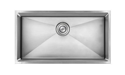 AS332 22.81″ x 17.625″ x 9″  18G  Single Bowl Undermount Kitchen Sink