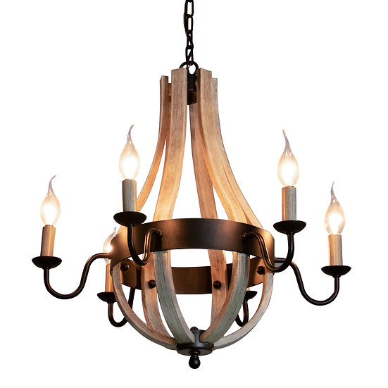 Canyon Home 6 Light Chandelier
