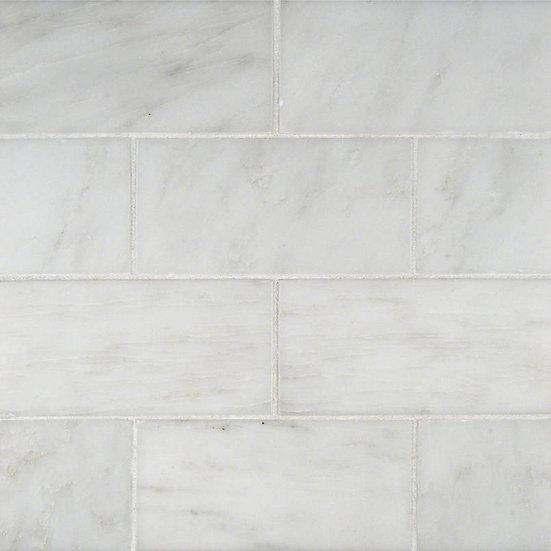Arabescato Cararra Subway Tile 3x6