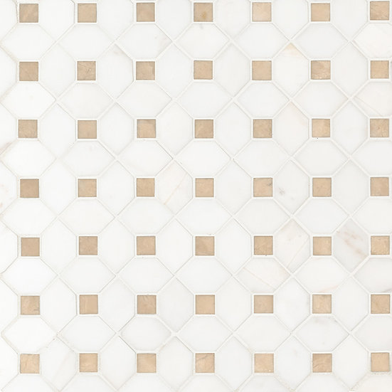 Bianco Dolomite Crema Dotty Polished