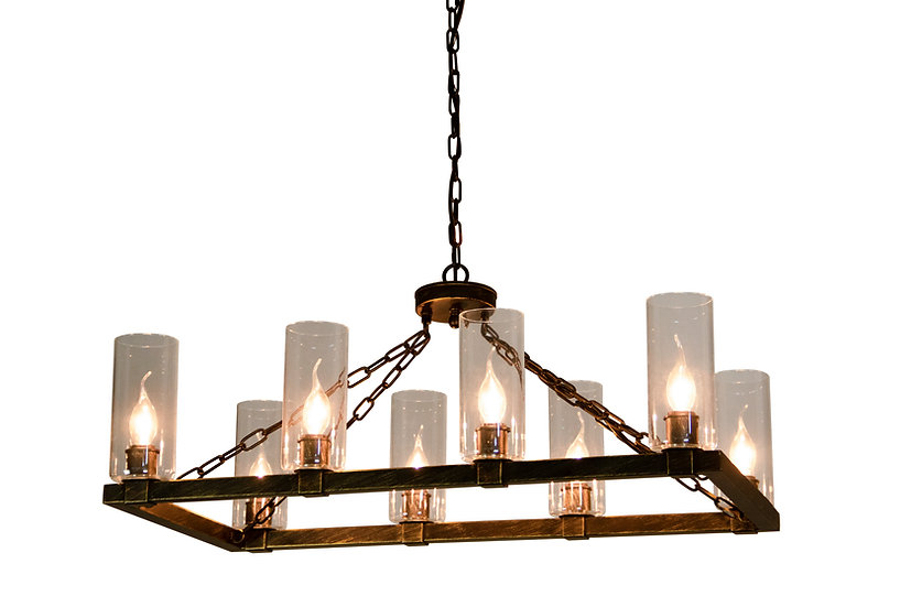 Canyon Home Kitchen Island Chandelier Light