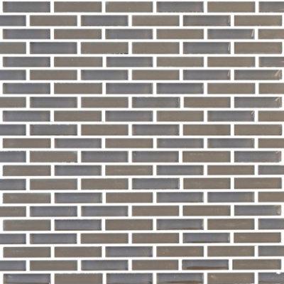Vetro Midnight Grey Staggered Brick