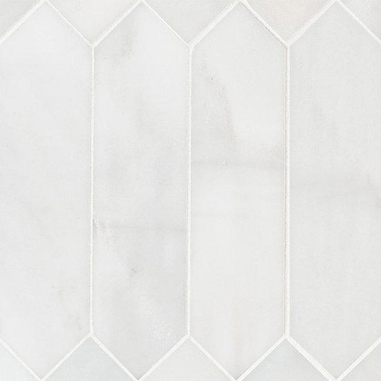 Arabescato Carrara 3x12 Picket Honed