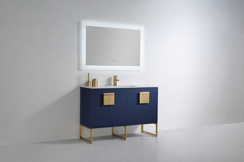 """Mars Royal Blue 48"""" Vanity"""