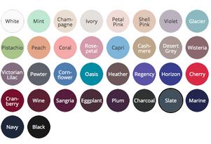 Bill Levkoff colour choices