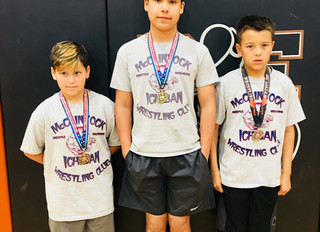 Freestyle Wrestling Medals
