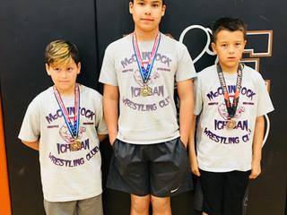 Freestyle Wrestling Medals