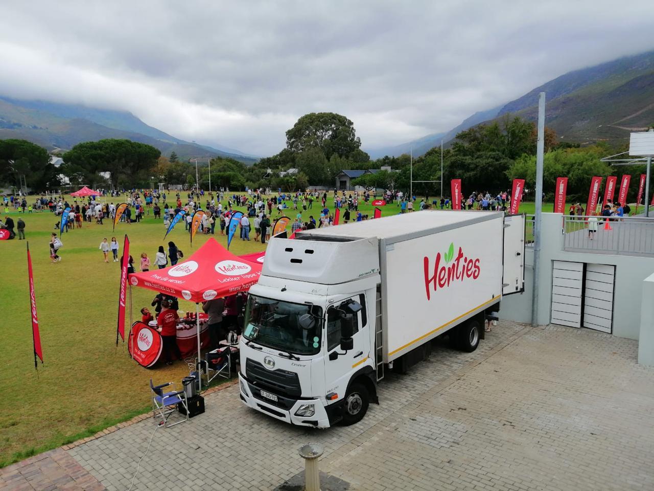 Henties Truck at School Event