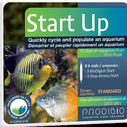 WS Start Up - 6 vials - BioDigest_Start and Stop_Ammo_Start
