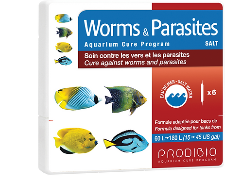 Worms & Parasites - 6 vials - Marine