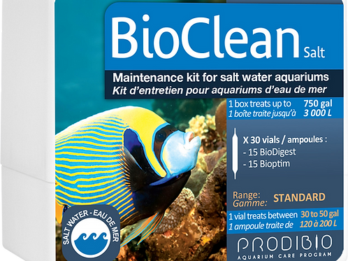 BioClean - 30 vials - Marine