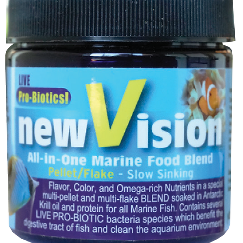 WS new Vision The ALL-IN-ONE  pellet / flake Food BlendWS