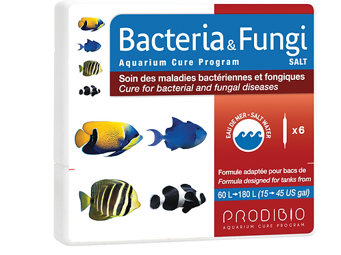 WS Bacteria & Fungi - 6 vials - Marine