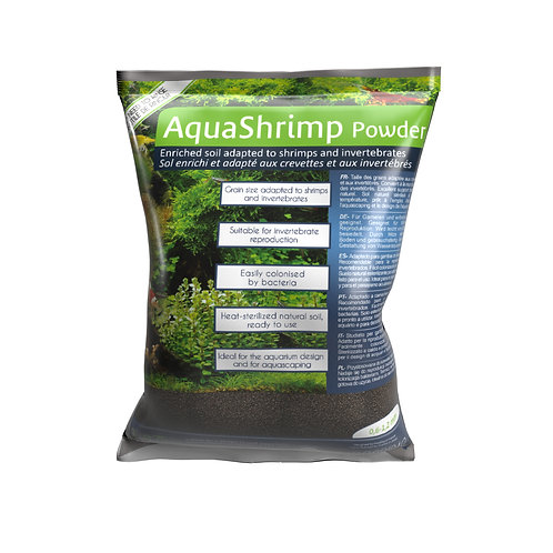 AquaSrimps Powder 3 lt + Bacterkit Soils Free
