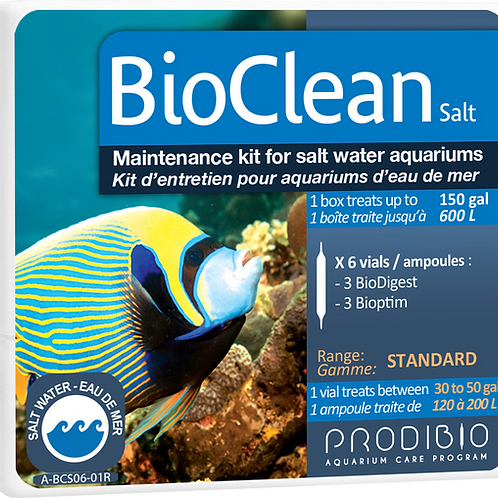 BioClean - 6 vials - Marine