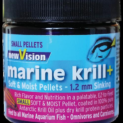 new Vision marine krill+ 1.2mm sinking pellets