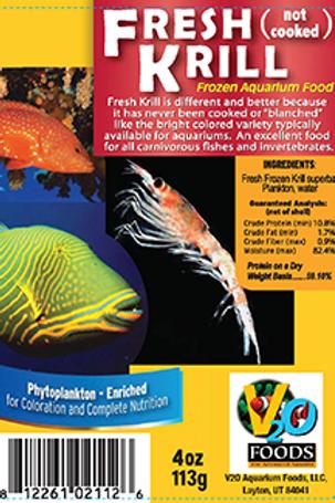 WS Fresh Krill 4oz