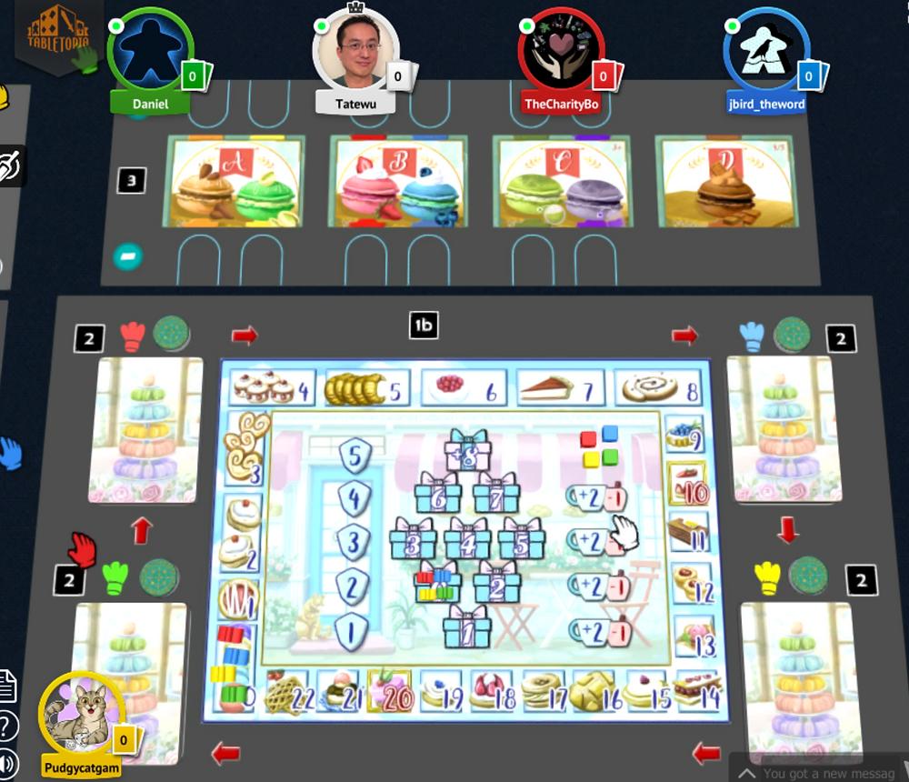 Macaron tabletopia game