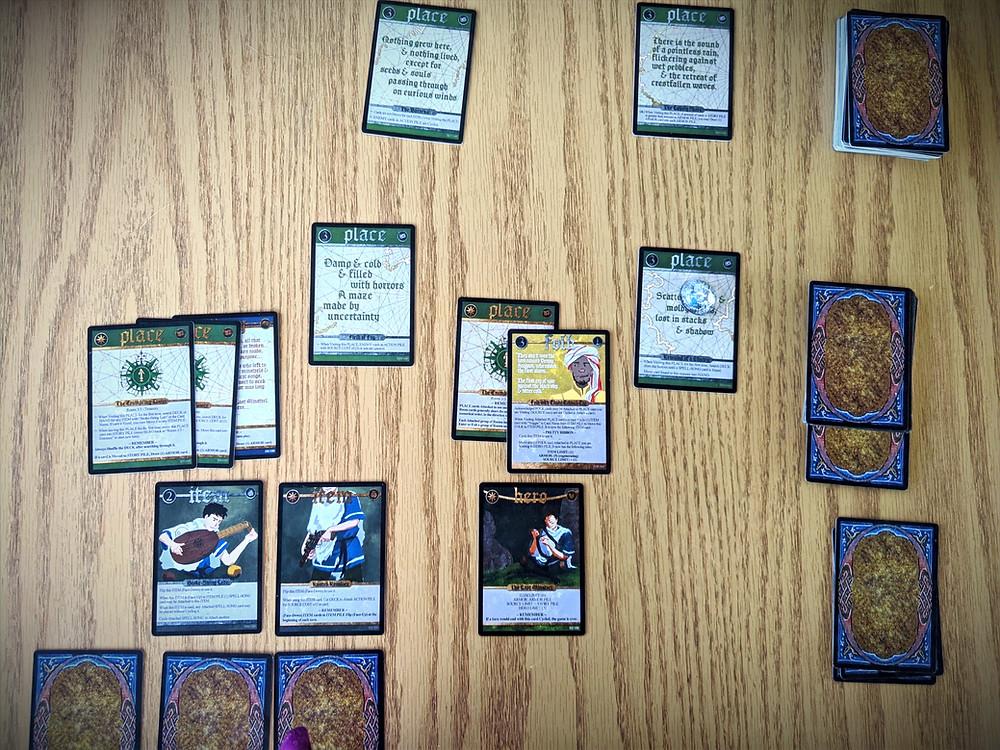 Spell Saga Cards