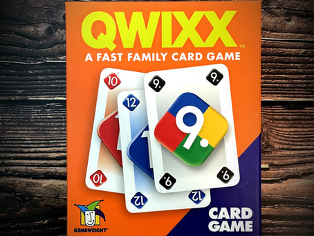Roll or Flip? Why Not Both?- Qwixx (The Card Game)