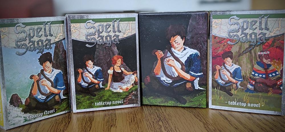 Spell Saga Boxes