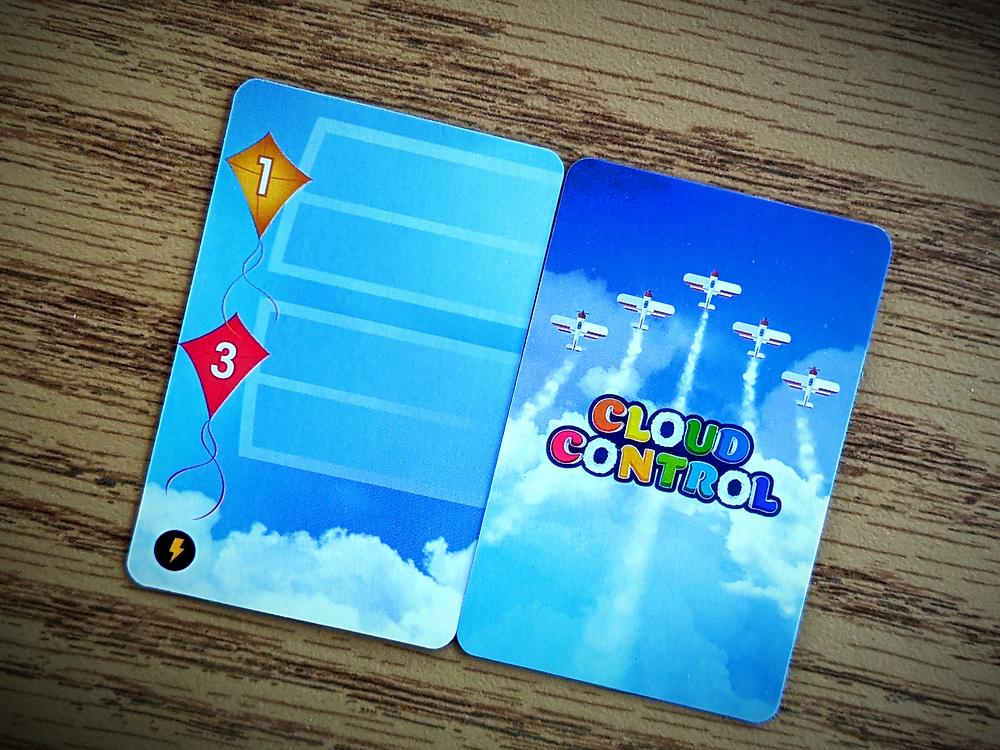 Cloud Control Blank Cards