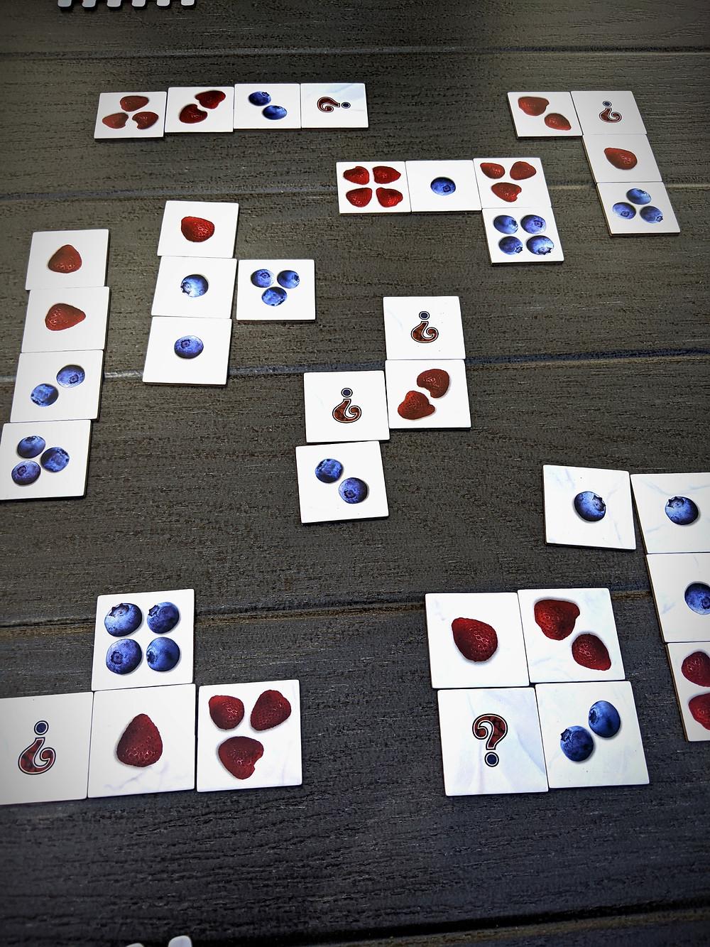 Berrymandering tiles combined