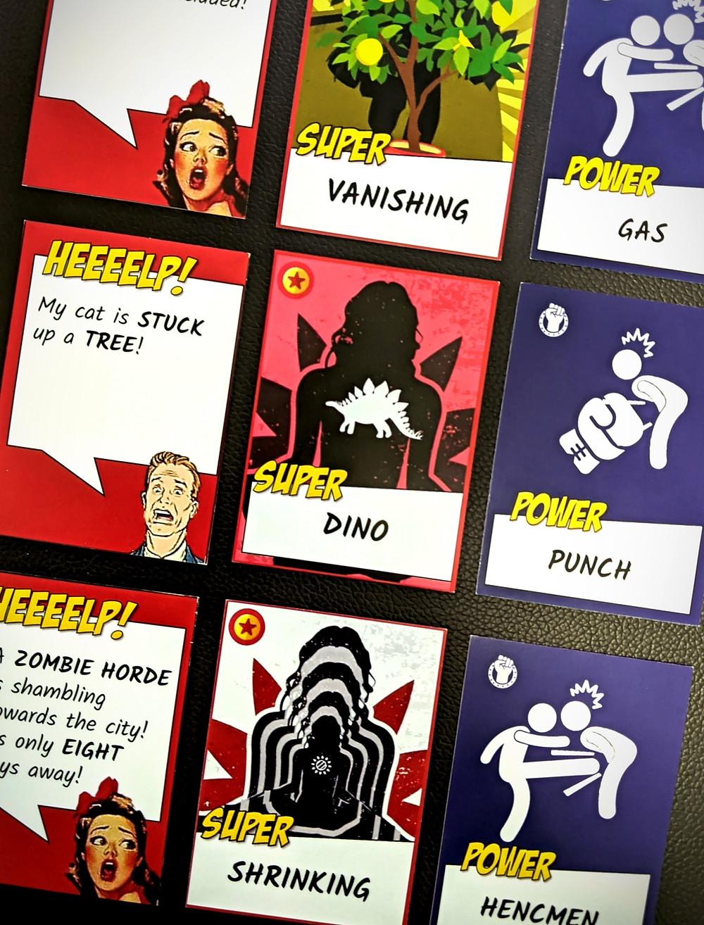 Trust Me, I'm a Superhero Cards