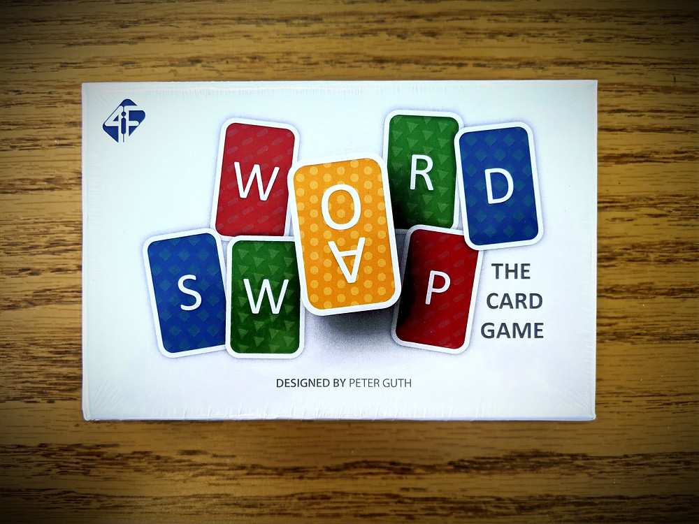 Word Swap The Card Game Box