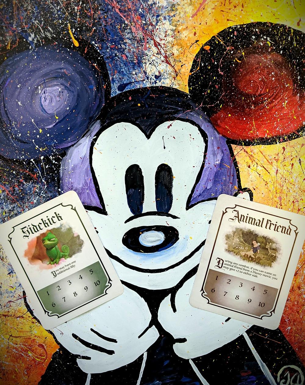 Munchkin: Disney Role Cards